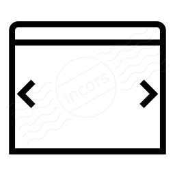 Window Width Icon 256x256