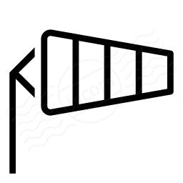 Windsock Icon 256x256