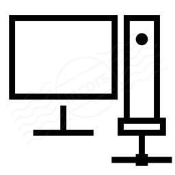 Workstation Network Icon 256x256