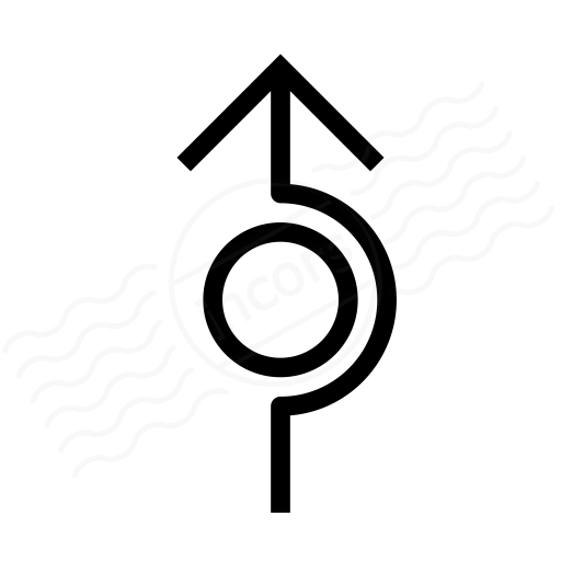 Arrow Around Icon