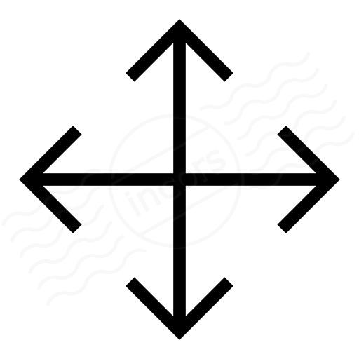 Arrow Cross Icon