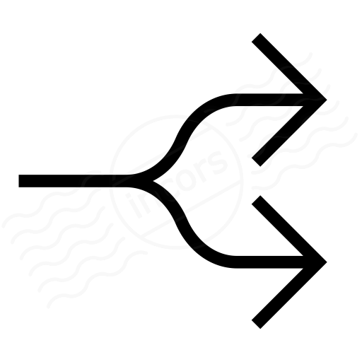Arrow Fork Icon