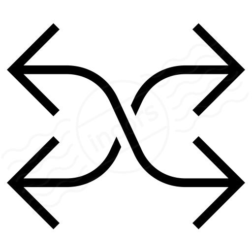 Arrow Mix Icon