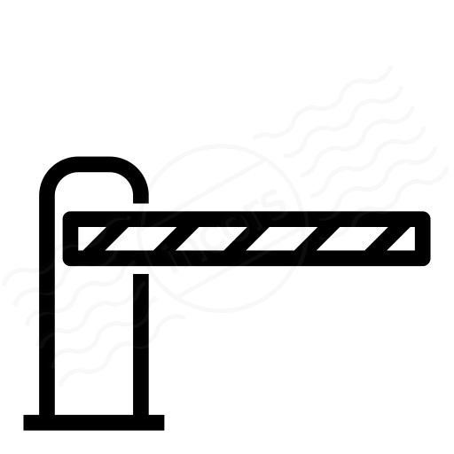 Barrier Closed Icon