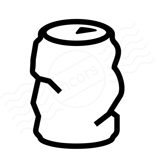 Beverage Can Empty Icon