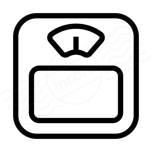 Body Scale Icon