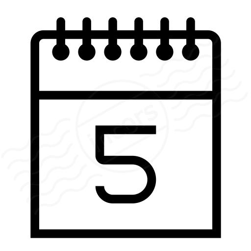 Calendar 5 Icon