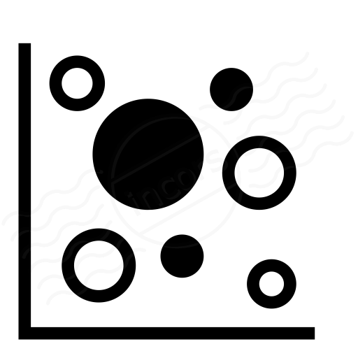 Iconexperience i collection chart bubble icon chart bubble icon ccuart Images