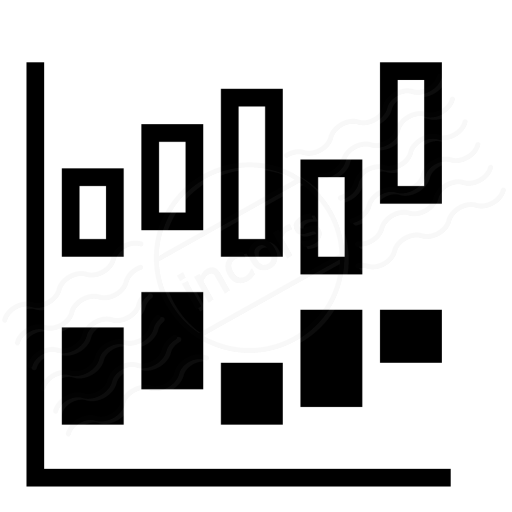 Chart Hi Lo Icon