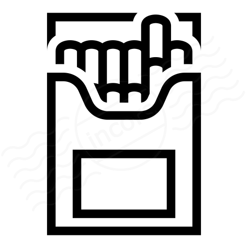 Cigarette Packet Icon