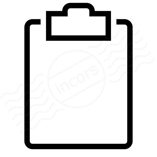 Clipboard Empty Icon