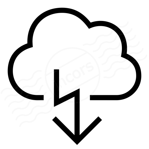 Cloud Flash Icon