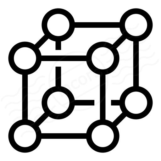 Cube Molecule Icon