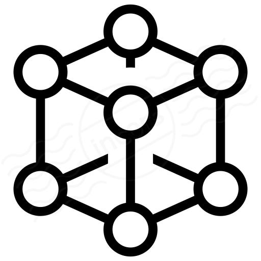 Cube Molecule 2 Icon