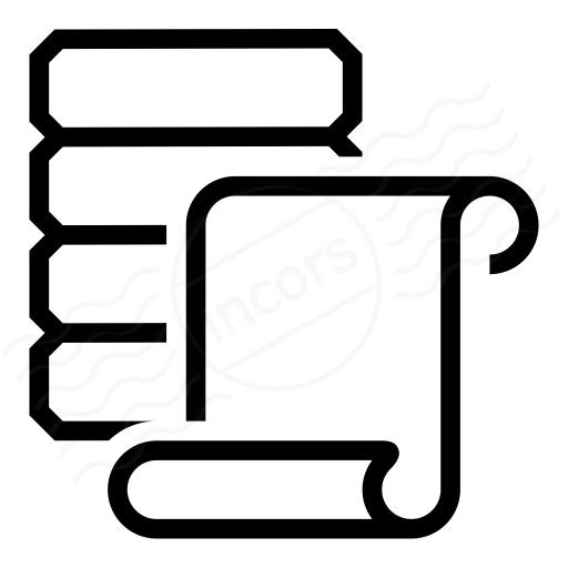 Data Scroll Icon