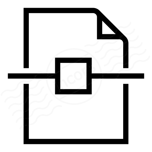 Document Center Vertical Icon