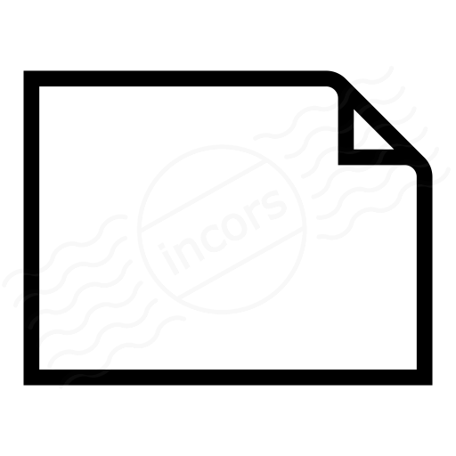 Document Empty Landscape Icon