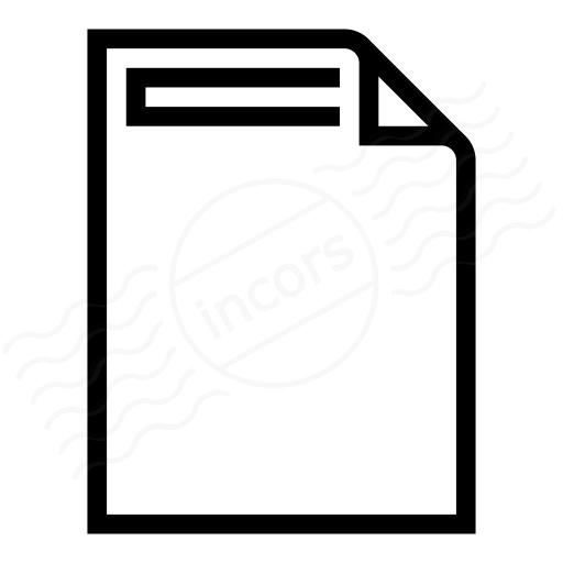 Document Header Icon