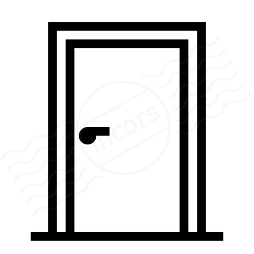 Door Closed Icon  sc 1 st  IconExperience.com & IconExperience » I-Collection » Door Closed Icon