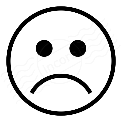 Emoticon Frown Icon