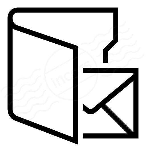 Folder 3 Mail Icon