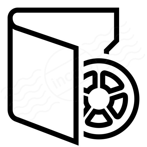 Folder 3 Movie Icon