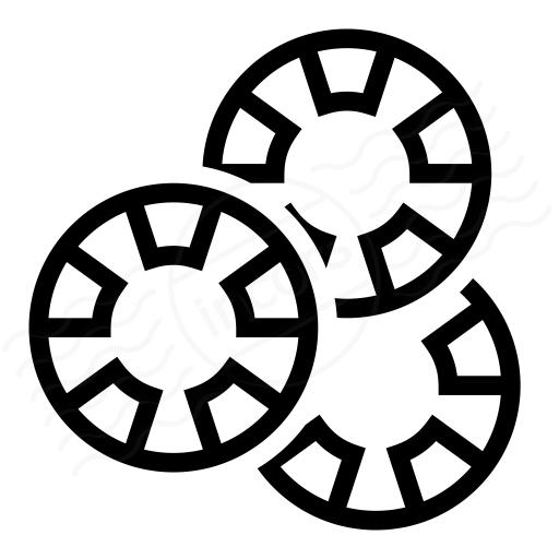 Gambling Chips Icon