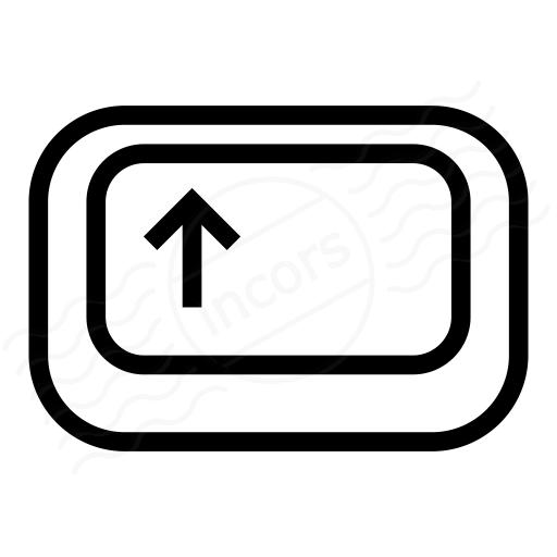 Keyboard Key Shift Icon