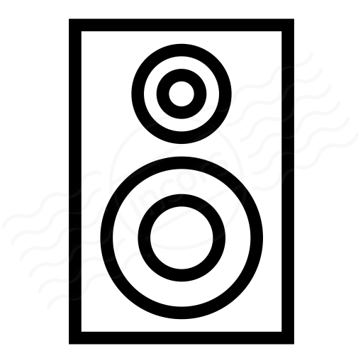 Loudspeaker Box Icon