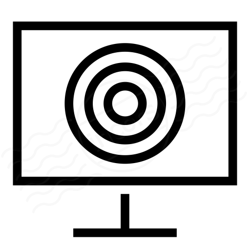 Monitor Touch Icon