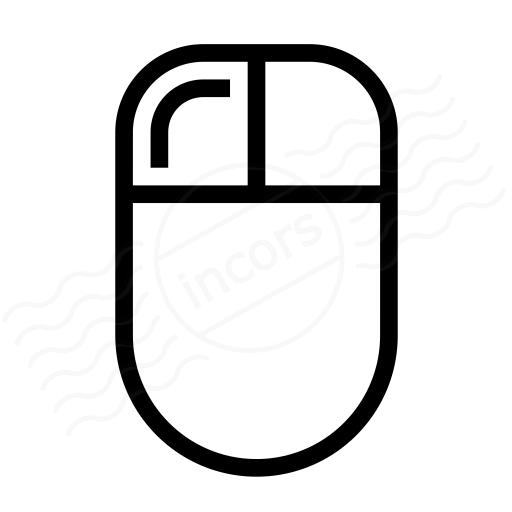 Mouse Left Button Icon
