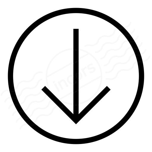 Nav Down Icon