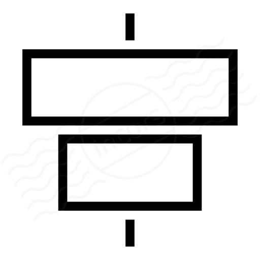 Object Alignment Horizontal Icon
