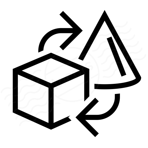 Objects Exchange Icon