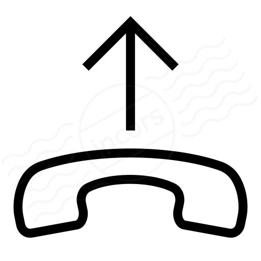 Phone Pick Up Icon