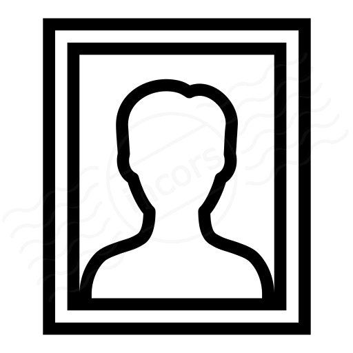 Photo Portrait Icon
