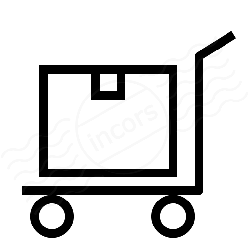 Platform Truck Box Icon