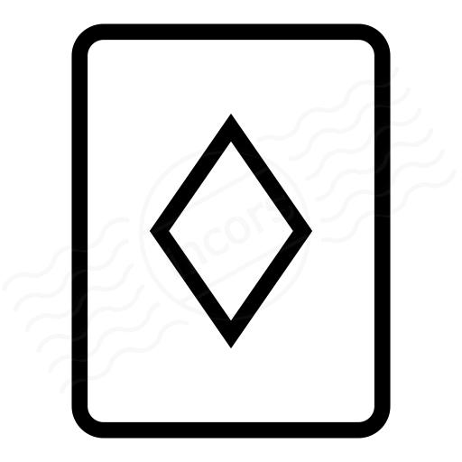 Playing Card Diamonds Icon