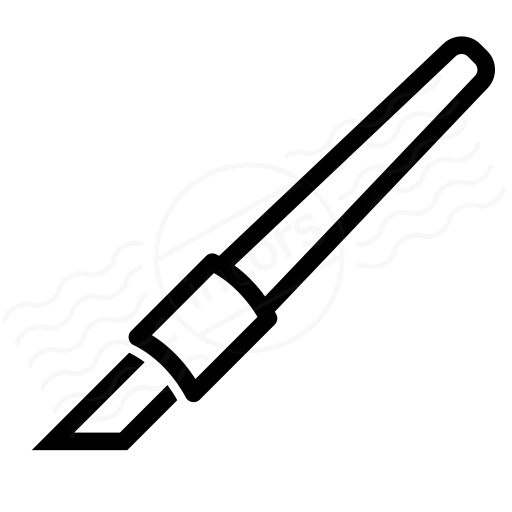 Precision Knife Icon