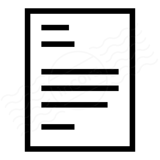 Print Layout Single Icon