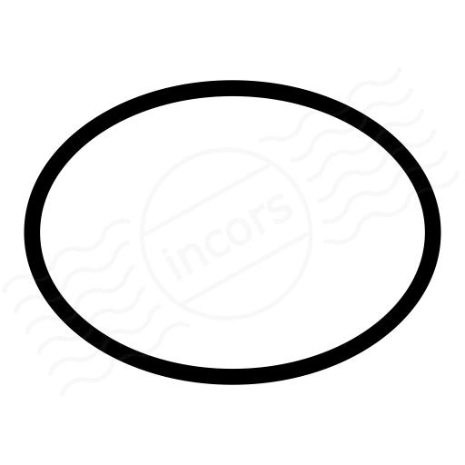 Shape Ellipse Icon