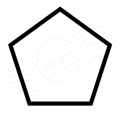 Shape Pentagon Icon