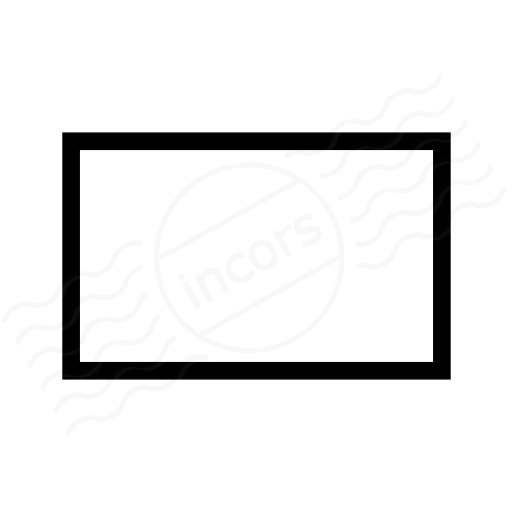 Shape Rectangle Icon