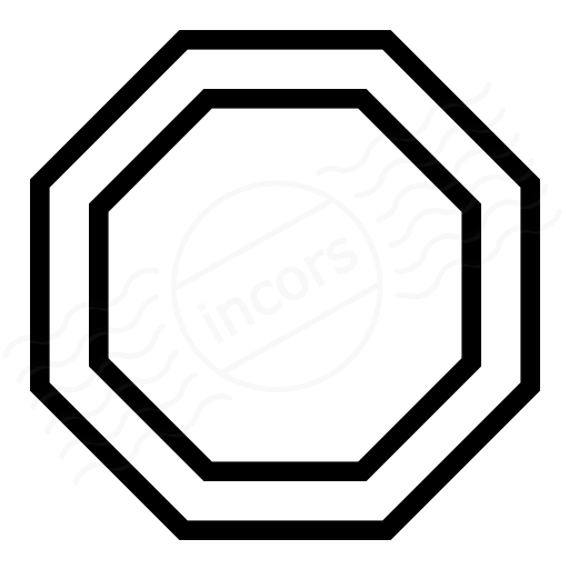 Sign Stop Icon