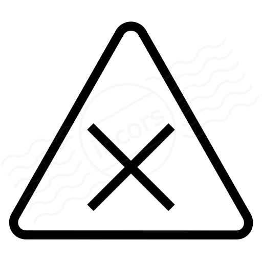 Sign Warning Harmful Icon