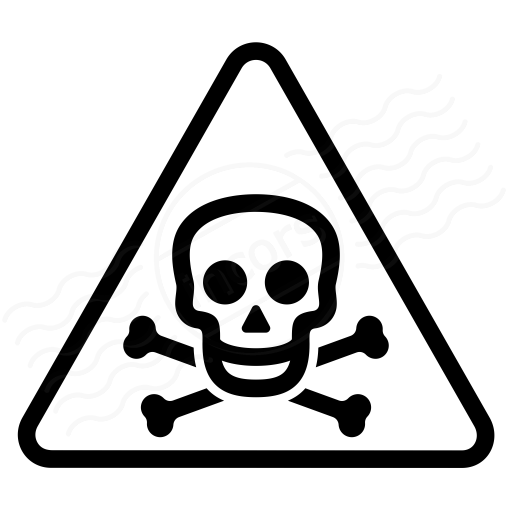 Sign Warning Toxic Icon
