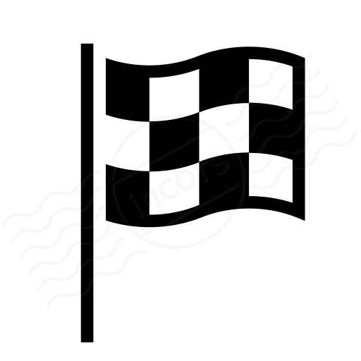 Signal Flag Checkered Icon