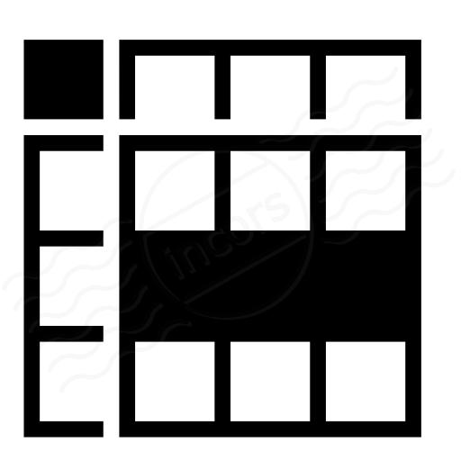 Spreadsheed Row Icon