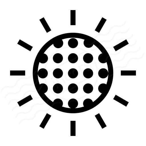 Sun Dimmed Icon