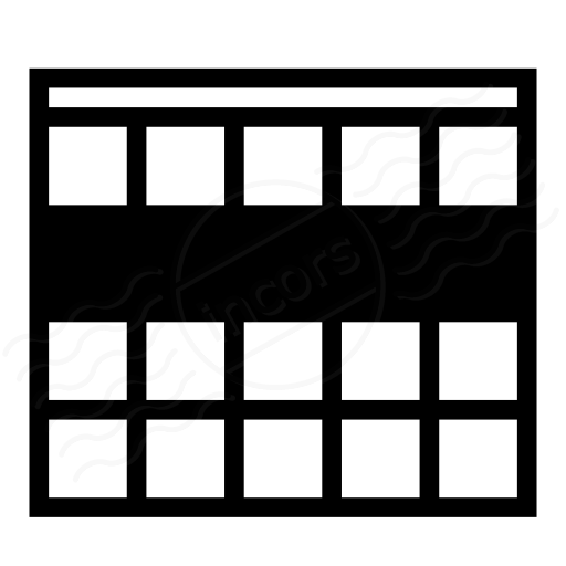 Table Selection Row Icon